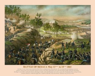 Resaca - May 13th to 15th 1864